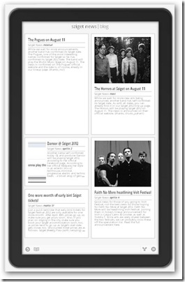 sziget news google currents