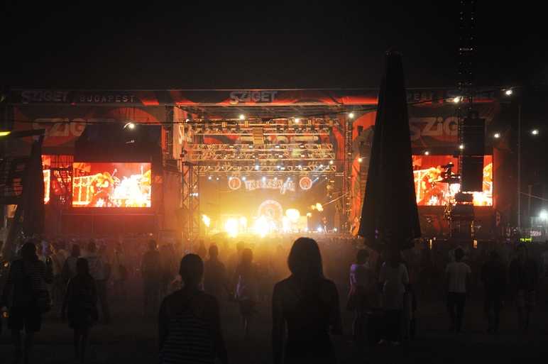 Sziget 2014 live streaming august 17