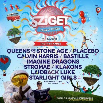 Sziget 2014 lineup