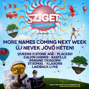 sziget 2014 new names