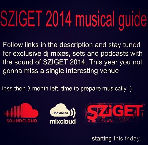 Sziget 2014 musical guide