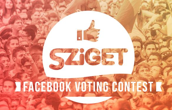 Sziget 2015 Facebook Voting Contest
