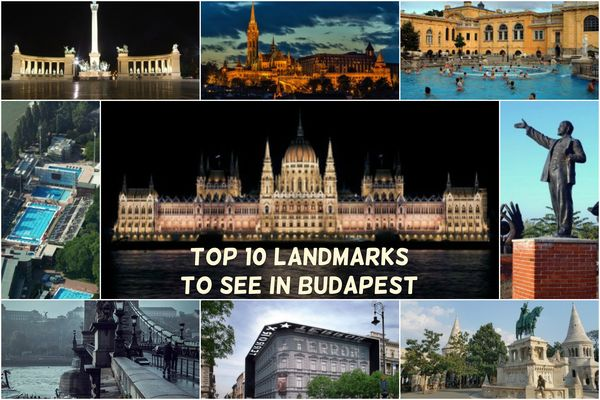 Top 10 Landmarks and Sights to See in Budapest
