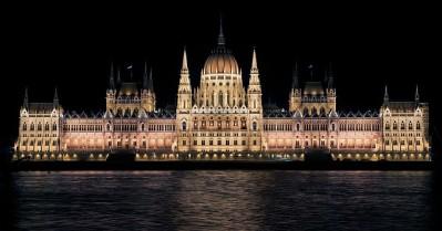 Hungarian Parliament Landmarks