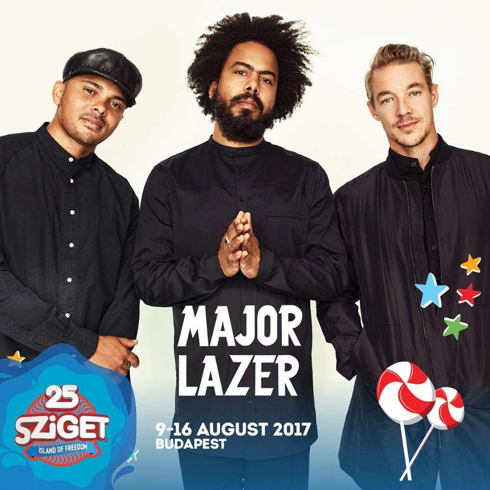 Sziget 2017 announcement
